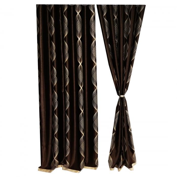 Set draperie Velaria blackout clepsidra 140X260X2 4