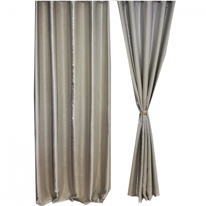 Set draperie Velaria blackout dungi gri 140X260X2 1
