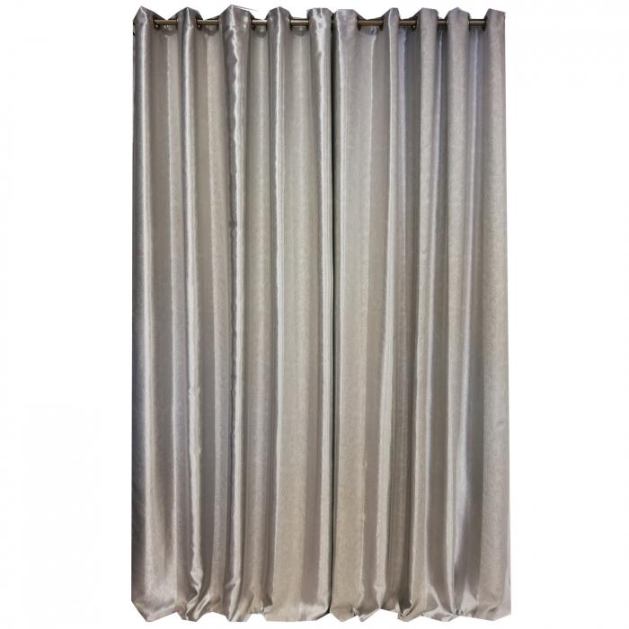 Set draperie Velaria blackout dungi gri 140X260X2 5