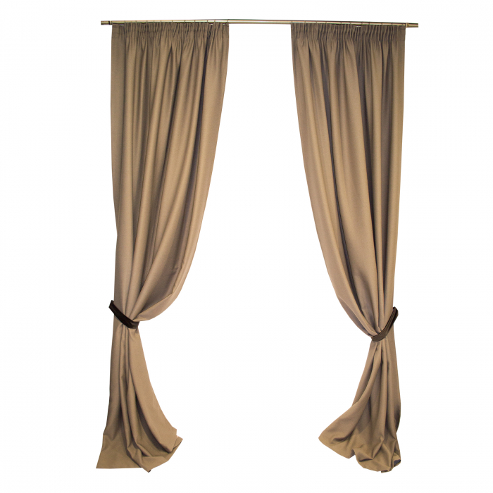 Set draperie Velaria blackout nuca, 2x150x290 cm, cu rejansa 0