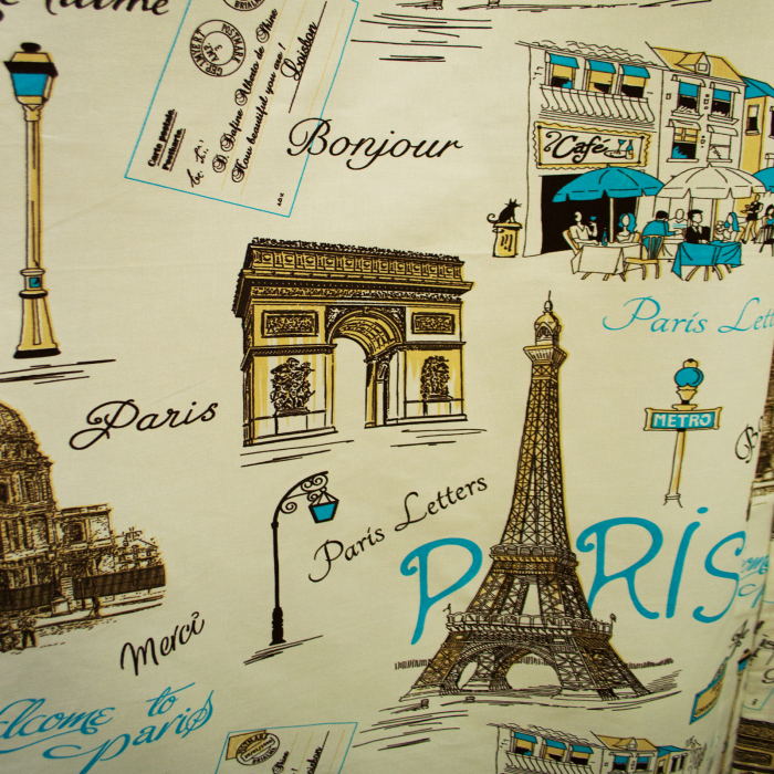 Set Draperie Velaria In Paris Blue 5