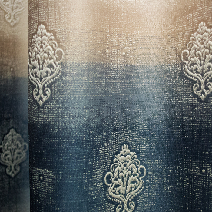 Set Draperie Velaria Degrade Albastru Baroc 2