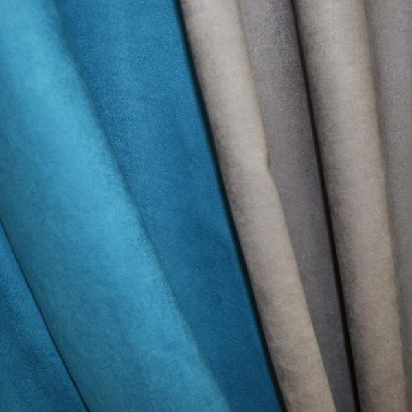 Set draperii Velaria turcoaz-gri, 2x130x260 cm 1