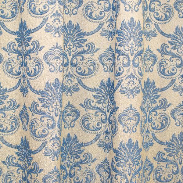 Set draperii Sama albastru, 2x135x255 cm 2