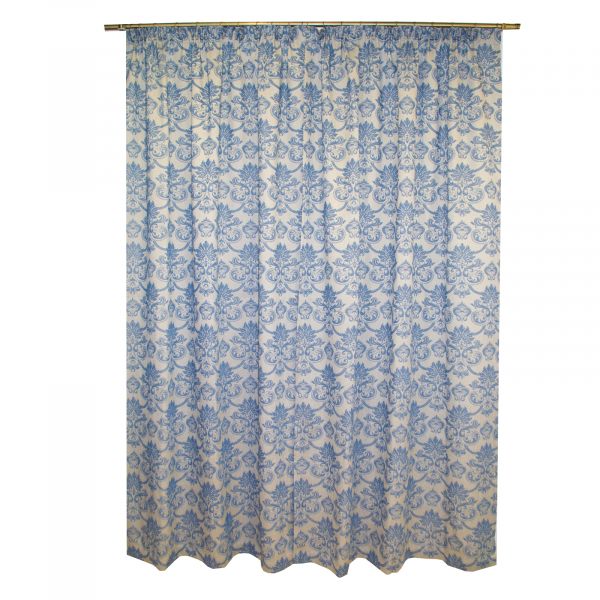 Set draperii Sama albastru, 2x135x255 cm 1