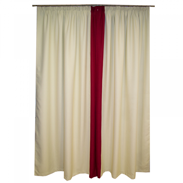 Set draperii blackout bej 2x165x260 cm [1]