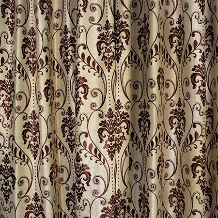 Set draperii Velaria baroc grena, 2*150x255 cm 1