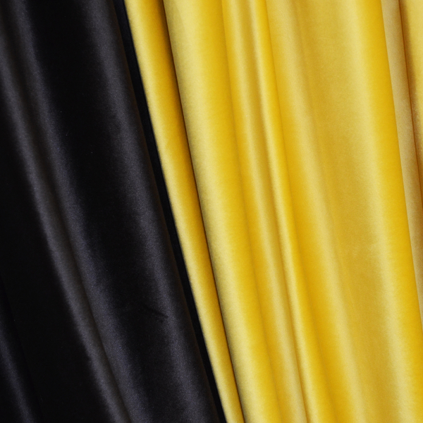 Set draperii Velaria catifea bee, 2x185x260 cm 2