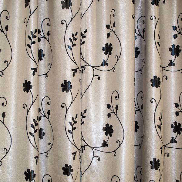 Set draperii Velaria blackout gri cu negru cu 2 fete, diverse dimensiuni 6