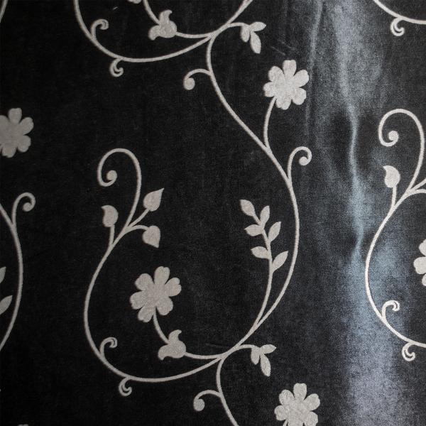 Set draperii Velaria blackout gri cu negru cu 2 fete, diverse dimensiuni 7