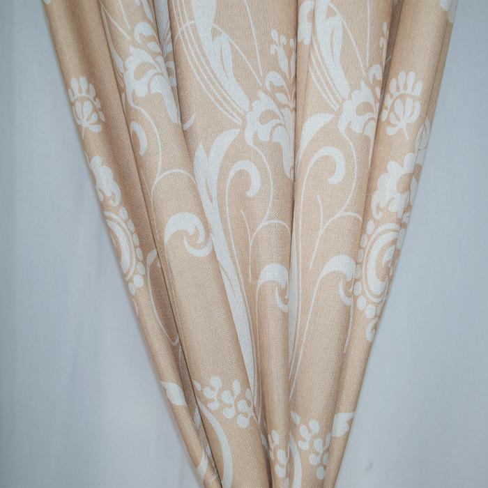 Set draperii Velaria in cu model, 2*190x245 cm 1