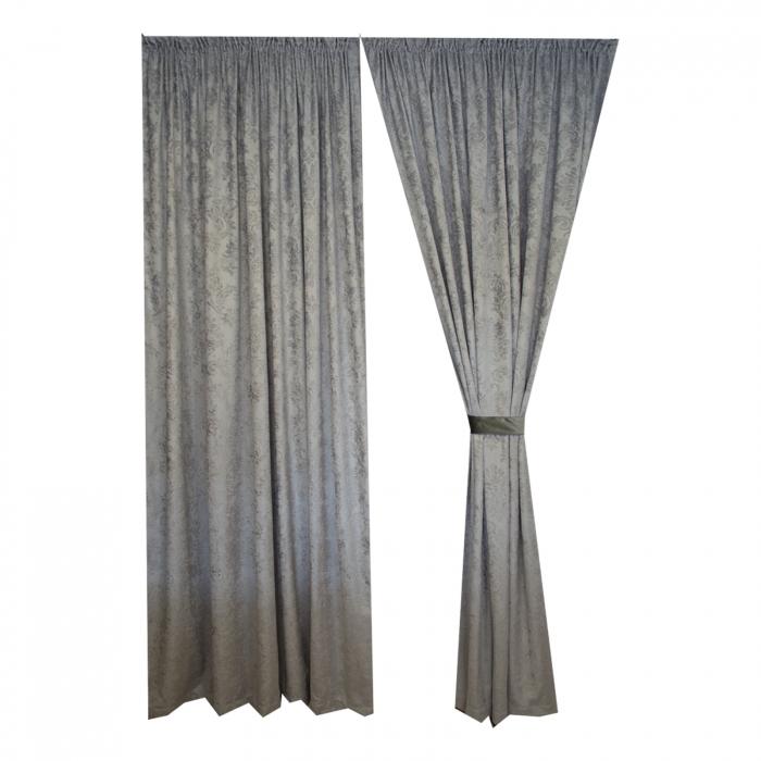 Set draperii Velaria chenile gri 0