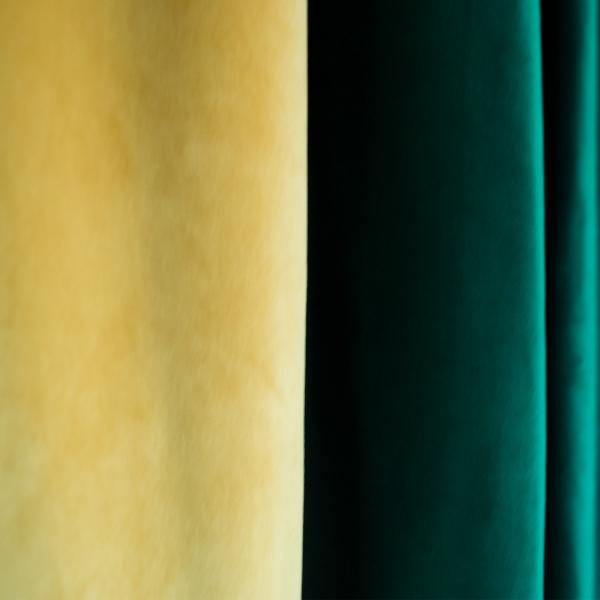 Set draperii Velaria catifea smarald, 2x185x225 cm 1