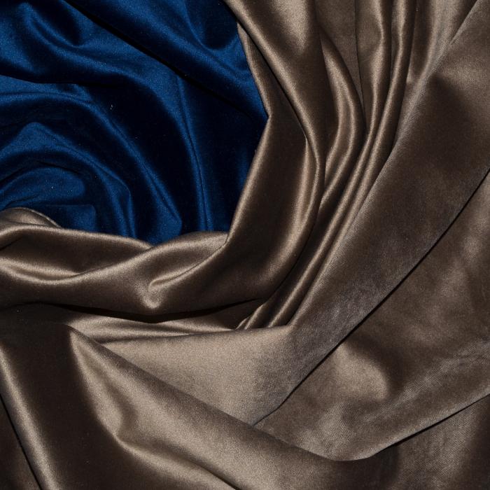 Set draperii Velaria catifea maro, 2x150x270 cm 1