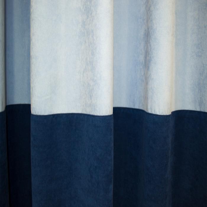 Set draperii Velaria albastru, 2x180x255 cm 2