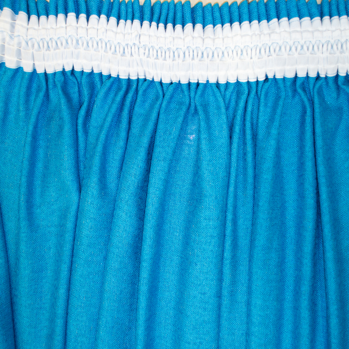 Set draperii Velaria albastru intens, 2x230x260 cm 4