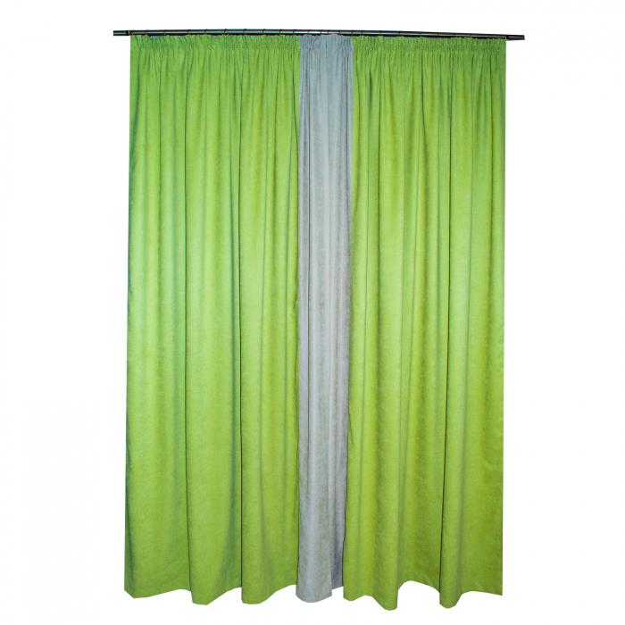 Set draperii Velaria verde deschis 2x170x260 cm 1