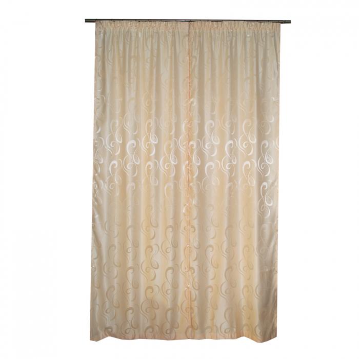 Set draperii Velaria jacard unt, 2x95x260 cm 3
