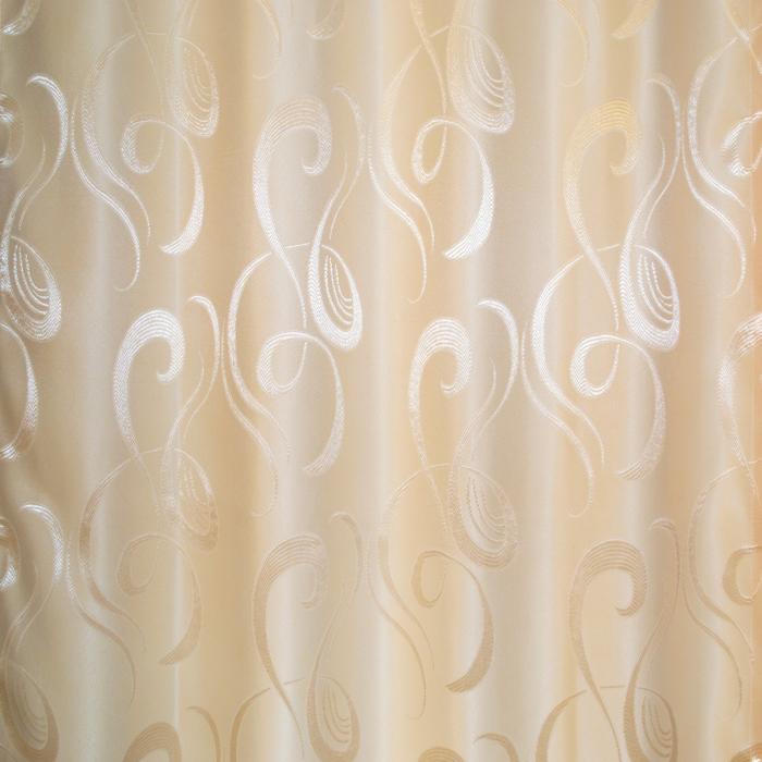 Set draperii Velaria jacard unt, 2x95x260 cm 2