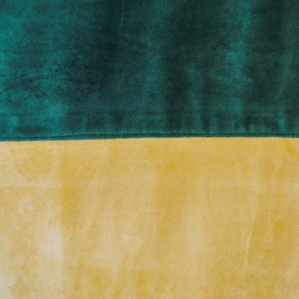 Set draperii Velaria bej-smarald, 2x140x260 cm 2
