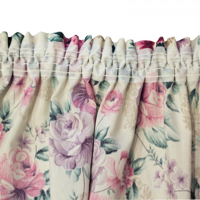 Set draperii Velaria floral mov, 2x155x255 cm 3