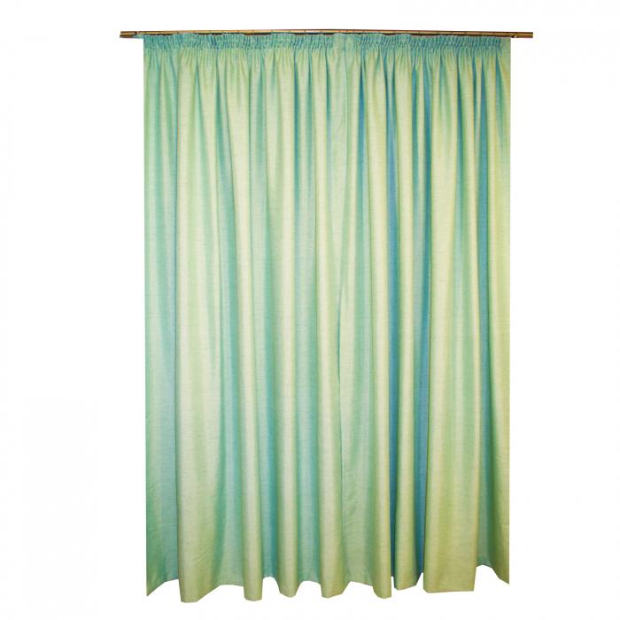Set draperii Velaria verde salvie 2x200x260 cm 1