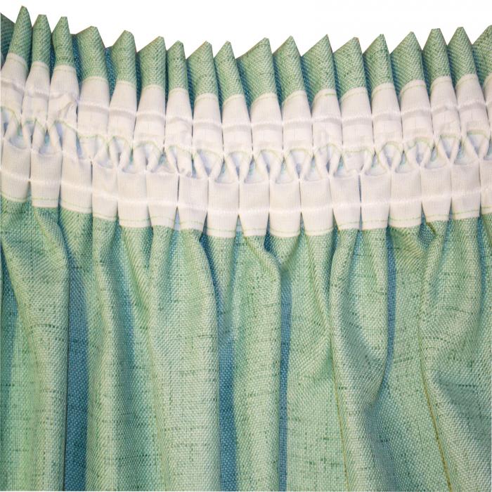 Set draperii Velaria verde salvie 2x200x260 cm 4
