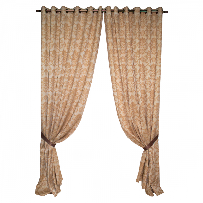 Set draperii Velaria tafta model baroc 3D, 2X175X275 cm 0