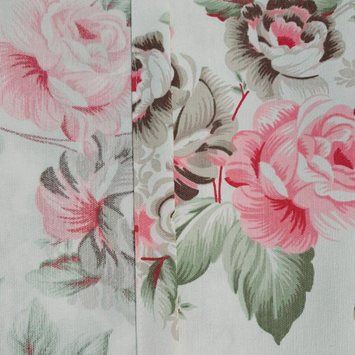 Set draperii Velaria floral verde 2x190x260 cm 3
