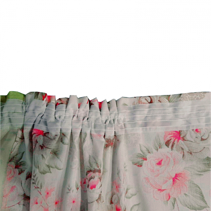 Set draperii Velaria floral verde 2x190x260 cm 4