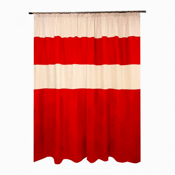 Set draperii Velaria suet grena 2x115x230 cm [1]