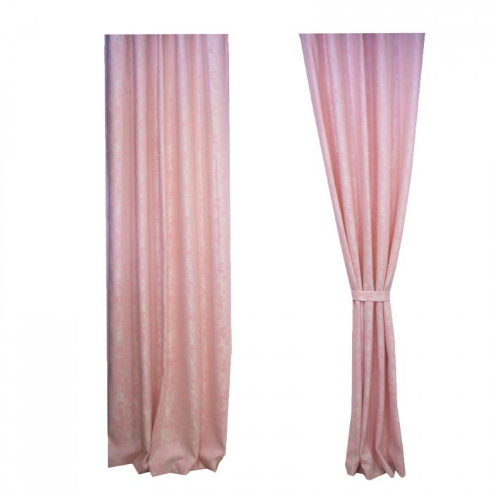 Set draperii Velaria Asos roz cu rejansa 4