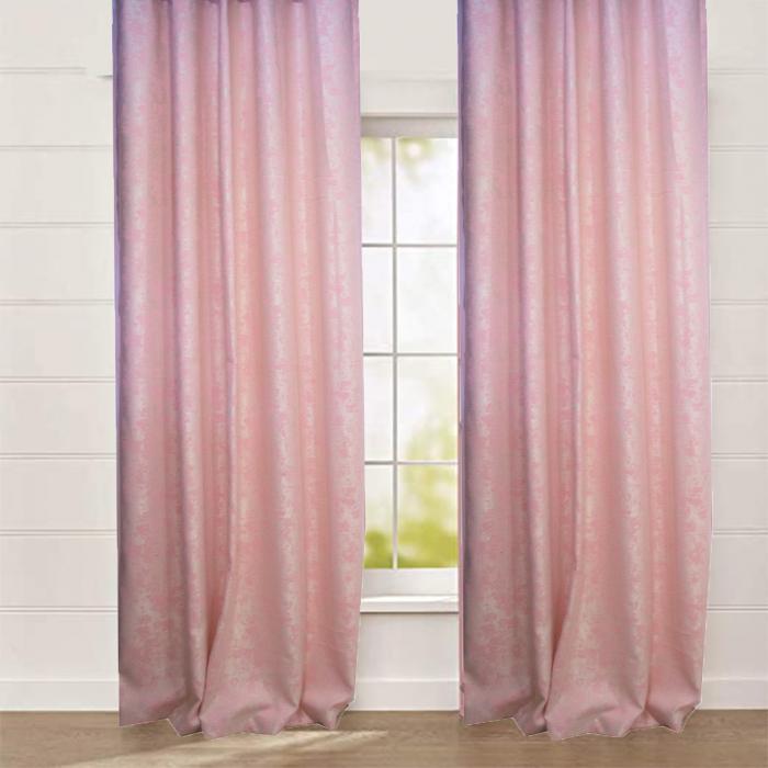 Set draperii Velaria Asos roz cu rejansa 0