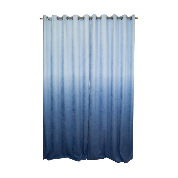 Set draperii Velaria hazel degrade albastru, diverse dimensiuni [1]