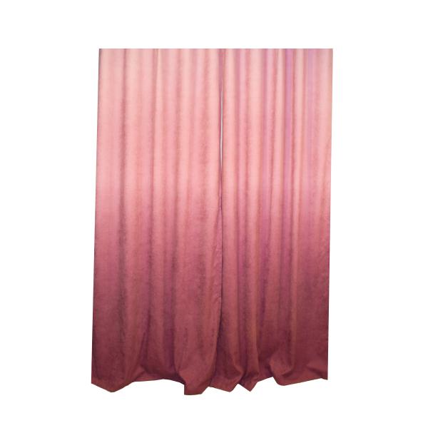 Set draperii Velaria hazel degrade roz pe rejansa, diverse dimensiuni 1