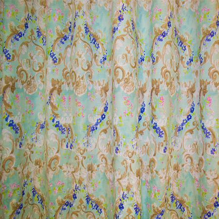Set draperii Velaria baroc cu bleo, 2 x 140 x 270 cm 2