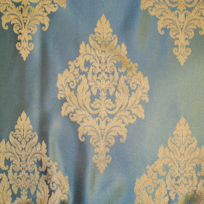 Set draperii Velaria imperium turcoaz, 2*150x260 cm 2
