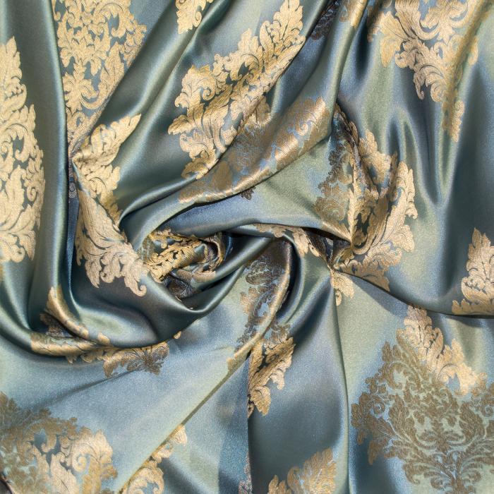 Set draperii Velaria imperium turcoaz, 2*150x260 cm 1