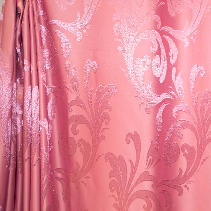 Set draperii Velaria jacard roz, 2*315x245 cm 1