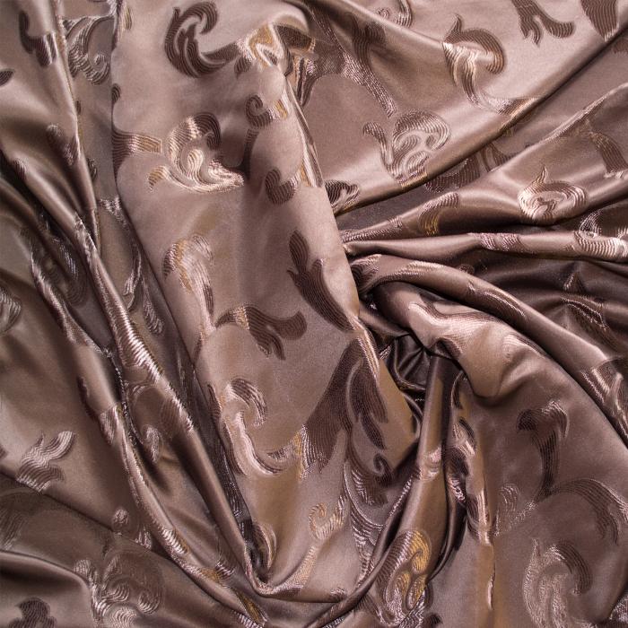 Set draperii Velaria jacard wenge, 2*115x250 cm 1