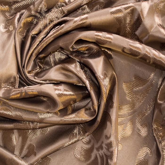 Set draperii Velaria jacard maro 3