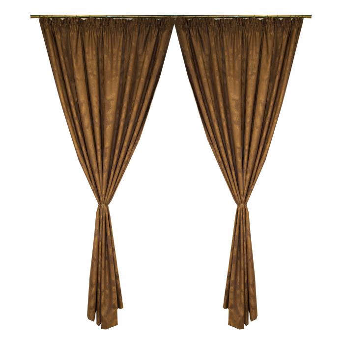 Set draperii Velaria wenge antichizat 2