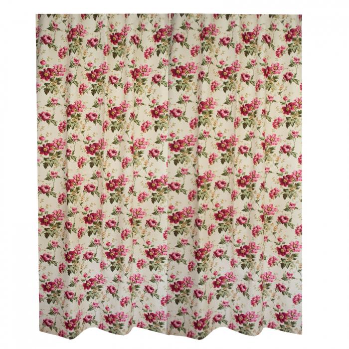 Set draperii Velaria flori rosii [3]