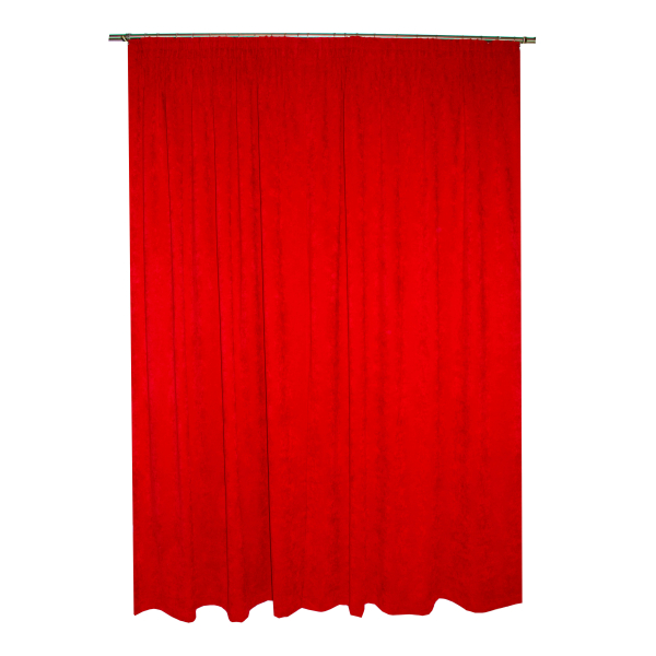 Set draperii Velaria rosie, diverse dimensiuni 1