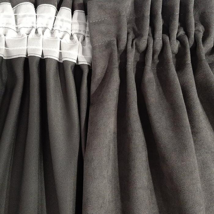 Set draperii Velaria gri-roz, 2x160x235 cm [6]