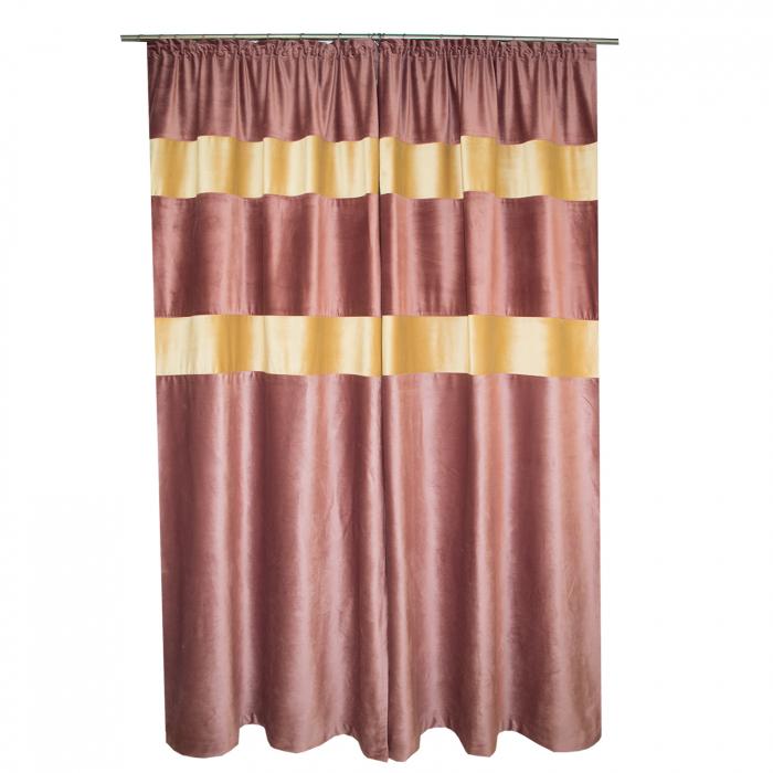 Set draperii Velaria catifea, 2*110x260 cm 1