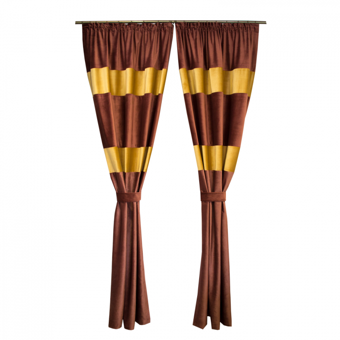 Set draperii Velaria catifea, 2*110x260 cm 0