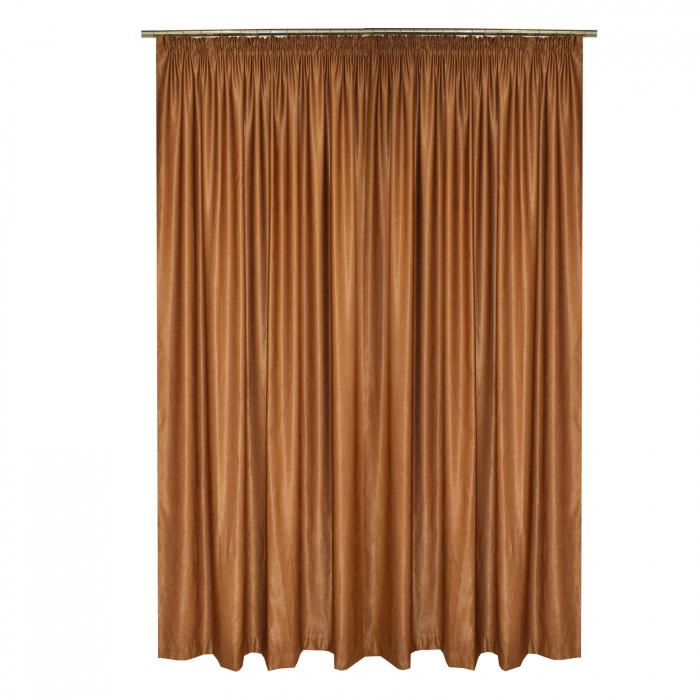 Set draperii Velaria soft maro, 2*210x245 cm 1