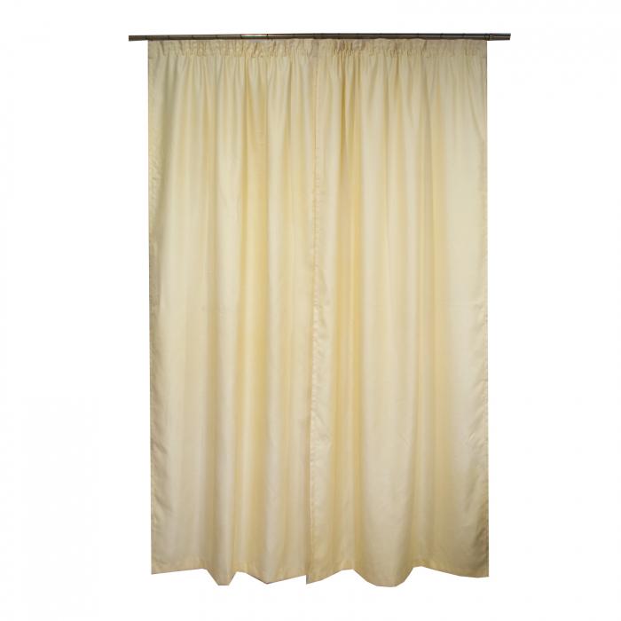 Set draperii Velaria soft unt, 2*115x245 cm 2