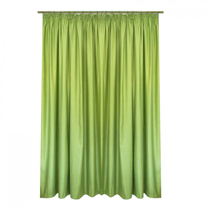 Set draperii Velaria soft verde deschis, 2*200x245 cm 1